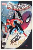 "Stan Lee Signed 2002 ""The Amazing Spider-Man"" Vol. 2 Issue #46 Direct Edition Marvel Comic Book (Lee COA)"