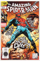 "Stan Lee Signed 2007 ""The Amazing Spider-Man"" Issue #544 Direct Edition Marvel Comic Book (Lee COA)"