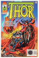 "Stan Lee Signed 1996 ""Thor"" Volume 1 Issue #502 Direct Edition Marvel Comic Book (Lee COA)"