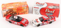 Lot of (2) Dale Earnhardt Jr. LE 1:24 Scale Die Cast Cars with (1) #8 Budweiser / MLB World Series 2004 Monte Carlo & (1) #8 Budweiser 1999 Monte Carlo