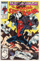 "Stan Lee Signed 1989 ""The Amazing Spider-Man"" Volume 1 Issue #322 Marvel Comic Book (Lee COA)"