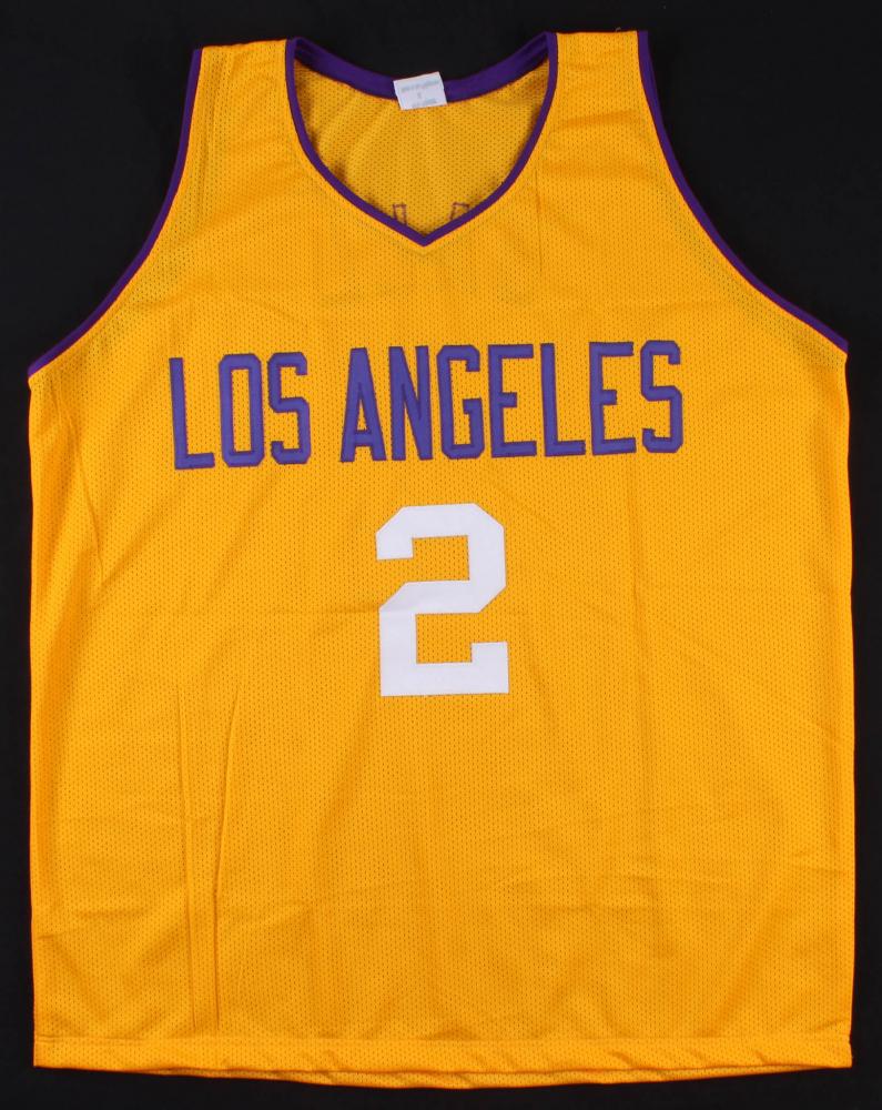 Lonzo Ball Signed Jersey (Beckett COA)   Pristine Auction