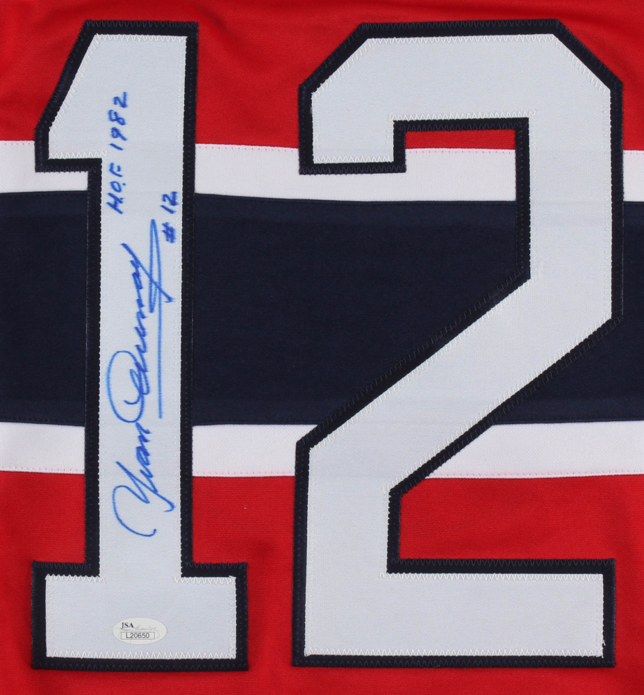 b72021d86d1 Yvan Cournoyer Signed Montreal Canadiens Captains Jersey Inscribed