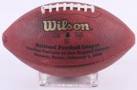 Tom Brady Signed Patriots LE Super Bowl XXXVIII Game-Used Football with Super Bowl XXXVIII Ball Boy Vest (PSA COA & TriStar Hologram) at PristineAuction.com
