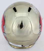 Warren Sapp Signed Tampa Bay Buccaneers Full-Size Custom Chrome Speed Helmet (JSA COA) at PristineAuction.com