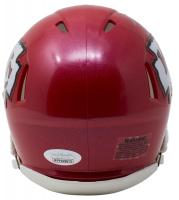 Tyreek Hill Signed Chiefs Mini Speed Helmet (JSA COA) at PristineAuction.com
