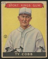 1933 Sport Kings #1 Ty Cobb