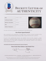 Elon Musk Signed OML Baseball (Beckett LOA) at PristineAuction.com