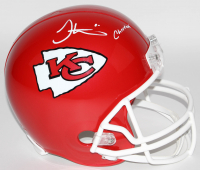 "Tyreek Hill Signed Kansas City Chiefs Full-Size Helmet Inscribed ""Cheetah"" (JSA COA)"