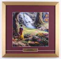 "Thomas Kinkade Walt Disney's ""Snow White"" 17.5x18 Custom Framed Print Display"