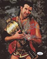 "Scott ""Razor Ramon"" Hall Signed WWE 8x10 Photo (JSA COA)"