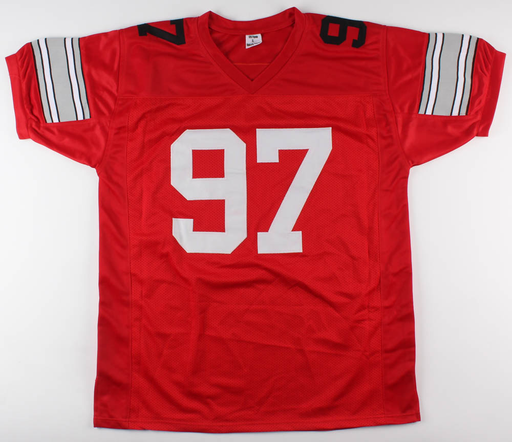 ef5e8d6e9 Nick Bosa Signed Ohio State Buckeyes Jersey (JSA COA) at PristineAuction.com