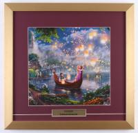 "Thomas Kinkade Walt Disney's ""Tangled"" 17.5x18 Custom Framed Print"