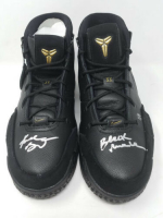 "Kobe Bryant Signed Pair of (2) LE Nike Mamba Day Edition Kobe 1 Protro Basketball Shoes Inscribed ""Black Mamba"" (Panini COA)"