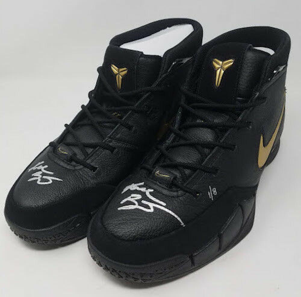 192c1388dd4c Kobe Bryant Signed Pair of (2) LE Nike Mamba Day Edition Kobe 1 Protro