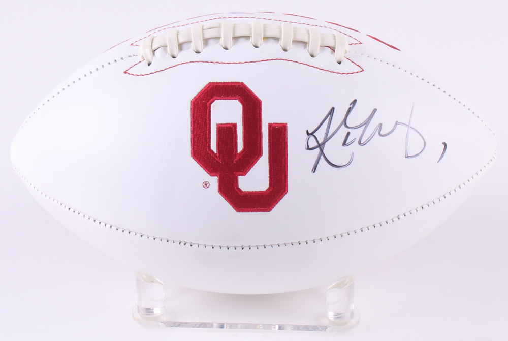 Kyler Murray Signed Oklahoma Sooners Logo Football (PSA COA) at  PristineAuction.com 3327eef91