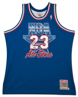 Michael Jordan Signed 1993 NBA All-Star Authentic Mitchell & Ness Jersey (UDA COA) at PristineAuction.com
