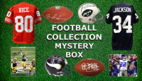 Football Collection Mystery Box - Series 4 (Limited to 50) (4 Autographs/ 2 Hall of Famers Per Box)