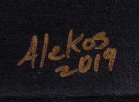 "Oscar Alikos Signed ""Conquistador"" 26.5x35.5 Original Oil Painting on Canvas (PA LOA) at PristineAuction.com"