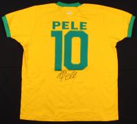 Pele Signed Brazil Jersey (PSA Hologram)