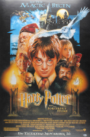 "Daniel Radcliffe Signed ""Harry Potter and the Sorcerer's Stone"" 27x40 Movie Poster (Beckett COA)"