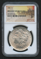 1886 Morgan Silver Dollar (NGC Brilliant Uncirculated)