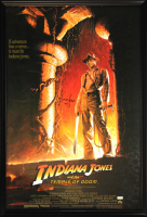 "Harrison Ford Signed ""Indiana Jones: Temple of Doom"" 30x43 Custom Framed Poster (Radtke COA) at PristineAuction.com"