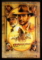 "Harrison Ford Signed ""Indiana Jones: The Last Crusade"" 30x43 Custom Framed Poster (Radtke COA) at PristineAuction.com"