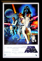 "Harrison Ford Signed ""Star Wars: A New Hope"" 28x40 Custom Framed Poster (Radtke COA) at PristineAuction.com"