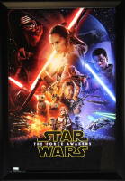 "Harrison Ford Signed ""Star Wars: The Force Awakens"" 28x40 Custom Framed Poster (Radtke COA)"