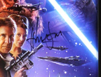 "Harrison Ford Signed ""Star Wars: The Force Awakens"" 28x40 Custom Framed Poster (Radtke COA) at PristineAuction.com"