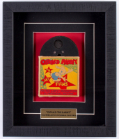 "Vintage Walter Lantz Universal Pictures ""Oswald The Rabbit"" Film 10.5x12.5x2 Custom Framed Film Reel Shadowbox Display"