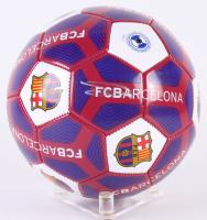 Ousmane Dembele Signed Barcelona Logo Soccer Ball (Beckett COA)