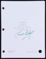 "Linda Blair Signed ""The Exorcist"" Full Movie Script (Legends COA)"