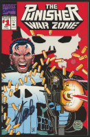 "Stan Lee Signed 1992 ""The Punisher: War Zone"" Issue #1 Marvel Comic Book (Lee COA)"