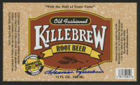 "Harmon Killebrew Signed 3.25x5 ""Old Fashioned Killebrew Root Beer"" Label (Beckett COA) at PristineAuction.com"