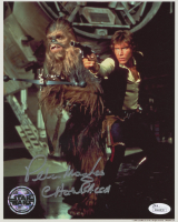 "Peter Mayhew Signed ""Star Wars"" 8x10 Photo Inscribed ""Chewbacca"" (JSA COA)"