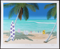 "Dan Mackin - ""Surfer Girl"" Signed Limited Edition 20x24 Fine Art Giclee #/275 (Mackin COA & PA LOA)"