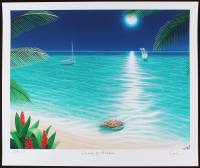 "Dan Mackin - ""Dreams of Paradise"" Signed Limited Edition 20x24 Fine Art Giclee #/275 (Mackin COA & PA LOA)"