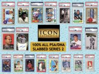 ICON AUTHENTIC 100% ALL PSA/DNA SLABBED MYSTERY BOX SERIES 2 All PSA/DNA Authenticated & Encapsulated