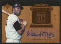2005 Upper Deck Hall of Fame Essential Enshrinement Autograph #WM1 Willie McCovey