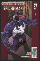 """Stan Lee Signed 2003 """"Ultimate Spider-Man"""" Issue #37 Marvel Comic Book (Lee COA)"""