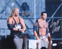Kevin Nash & Scott Hall Signed WWE 11x14 Photo (JSA COA)