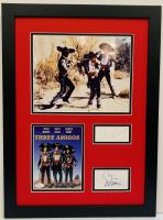 "Chevy Chase, Steve Martin & Martin Short Signed ""Three Amigos"" 16x22 Custom Framed DVD Cover & Cut Display (JSA COA)"