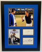 "Kevin Costner, Susan Sarandon & Tim Robbins Signed ""Bull Durham"" 17x22 Custom Framed DVD Case & Cut Display (JSA COA)"