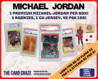 The Card Craze Michael Jordan Premium Basketball Card Mystery Box (1 Hit Per Box)