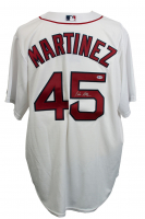 Pedro Martinez Signed Boston Red Sox Majestic Jersey (Beckett COA)