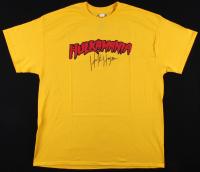 Hulk Hogan Signed Hulkmania Shirt (JSA COA)