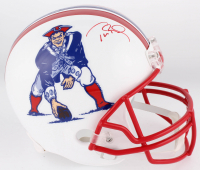 Tom Brady Signed New England Patriots Throwback Full-Size Helmet (Tristar Hologram) at PristineAuction.com