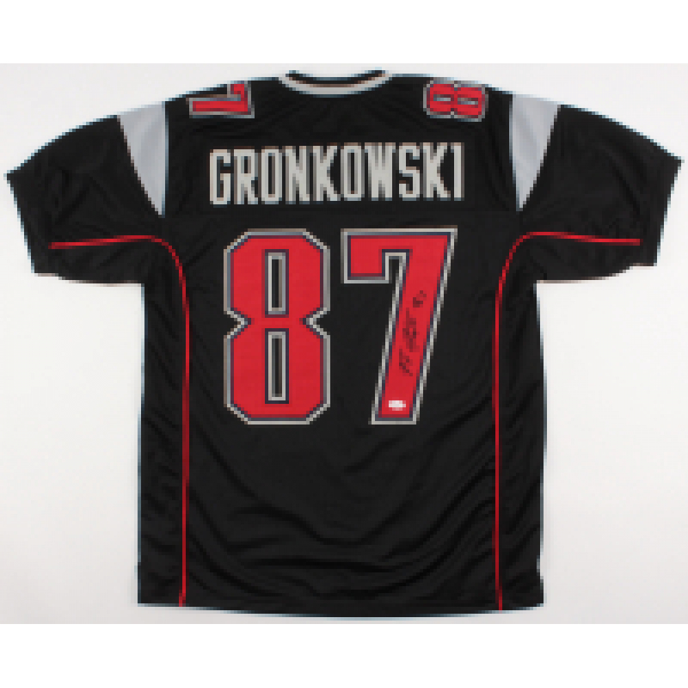 a333c6cd Rob Gronkowski Signed New England Patriots Jersey (JSA COA)